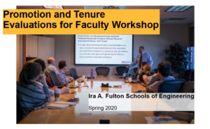 Spring 2020 Promotion and Tenure presentation thumbnail image